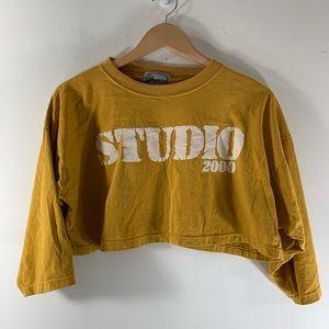 SCHERRY vintage cropped t shirt
